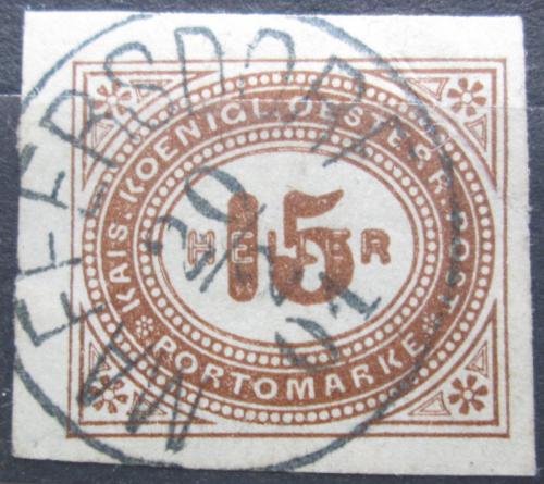 Poštovní známka Rakousko 1899 Doplatní Mi# 18
