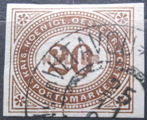 Poštovní známka Rakousko 1899 Doplatní Mi# 19 Kat 6€
