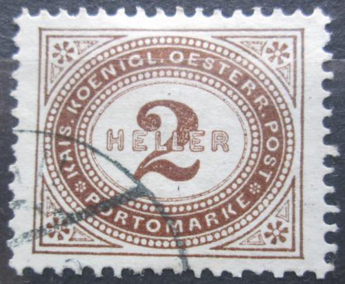 Poštovní známka Rakousko 1900 Doplatní Mi# 23