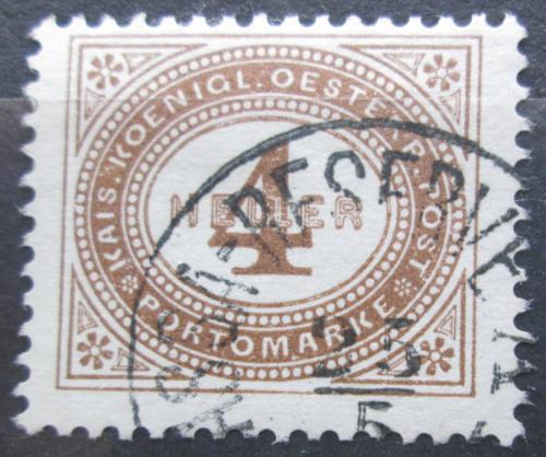 Poštovní známka Rakousko 1900 Doplatní Mi# 25