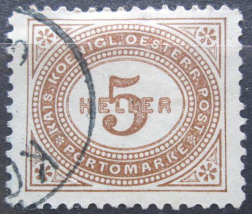 Poštovní známka Rakousko 1900 Doplatní Mi# 26