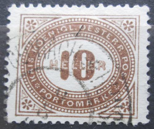 Poštovní známka Rakousko 1900 Doplatní Mi# 28