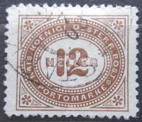 Poštovní známka Rakousko 1900 Doplatní Mi# 29