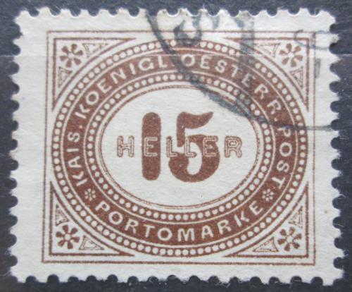 Poštovní známka Rakousko 1900 Doplatní Mi# 30