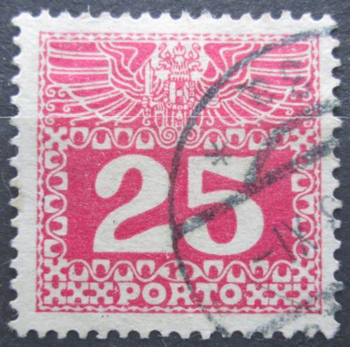 Poštovní známka Rakousko 1910 Doplatní, støednì silný papír bez lesku Mi# 41 Kat 10€