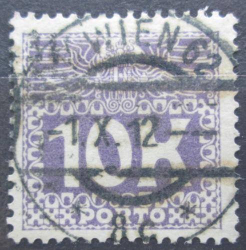 Poštovní známka Rakousko 1911 Doplatní Mi# 46 Kat 5€