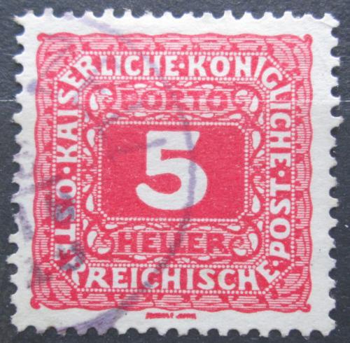 Poštovní známka Rakousko 1916 Doplatní Mi# 47 B