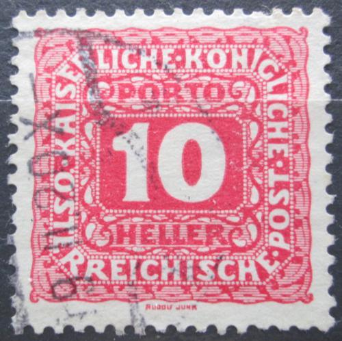 Poštovní známka Rakousko 1916 Doplatní Mi# 48 B