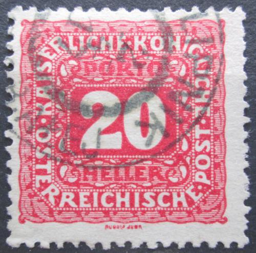 Poštovní známka Rakousko 1916 Doplatní Mi# 50 B