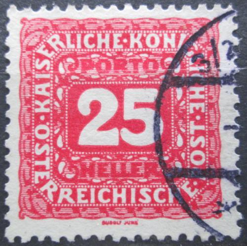 Poštovní známka Rakousko 1916 Doplatní Mi# 51 B