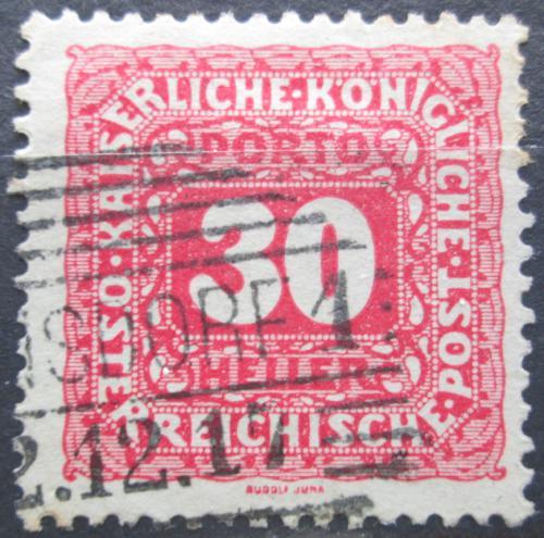 Poštovní známka Rakousko 1916 Doplatní Mi# 52 B