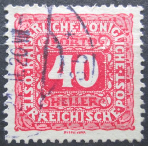 Poštovní známka Rakousko 1916 Doplatní Mi# 53 B