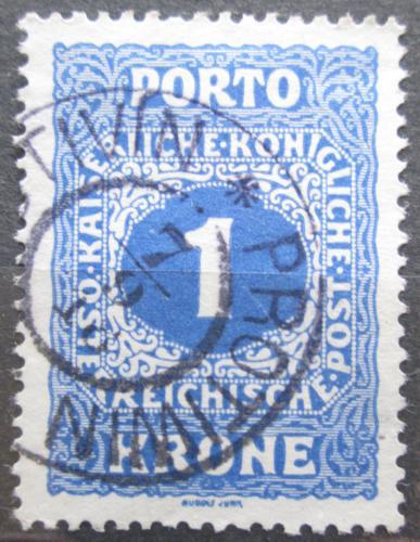 Poštovní známka Rakousko 1916 Doplatní Mi# 55 A