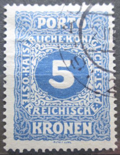 Poštovní známka Rakousko 1916 Doplatní Mi# 56 A Kat 5€