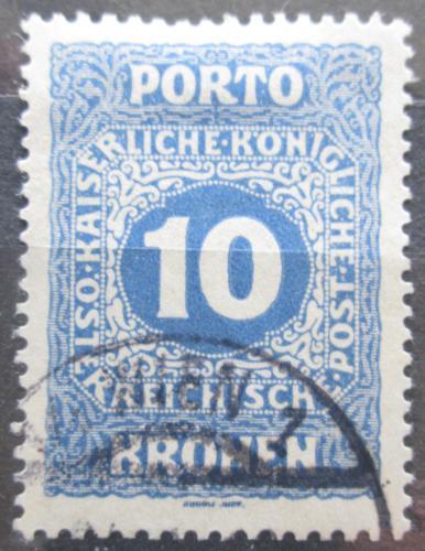 Poštovní známka Rakousko 1916 Doplatní Mi# 57 A