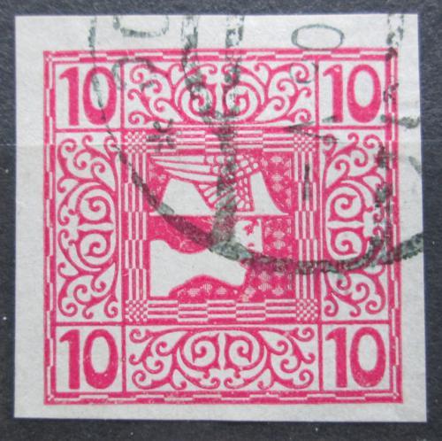 Poštovní známka Rakousko 1908 Merkur, novinová Mi# 159