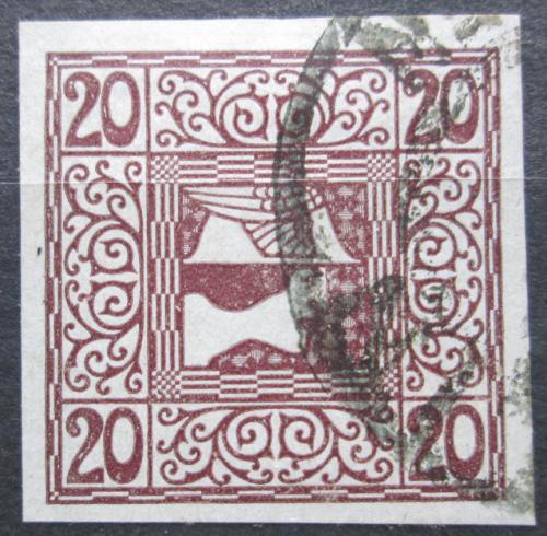 Poštovní známka Rakousko 1908 Merkur, novinová Mi# 160