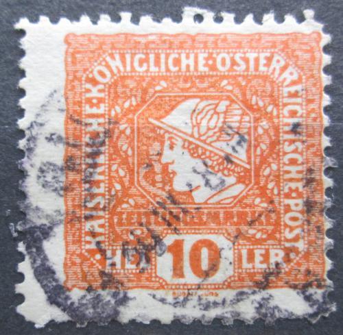 Poštovní známka Rakousko 1916 Merkur, novinová, privátní vydání Mi# 215