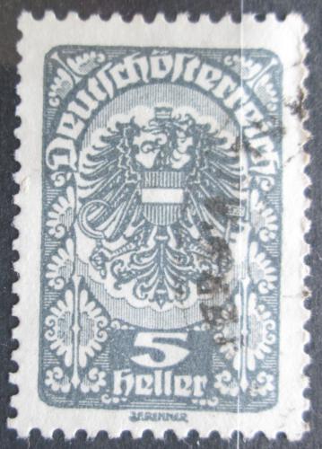 Poštovní známka Rakousko 1920 Císaøská orlice Mi# 257 x a