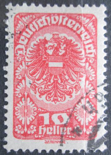 Poštovní známka Rakousko 1920 Císaøská orlice Mi# 260 x