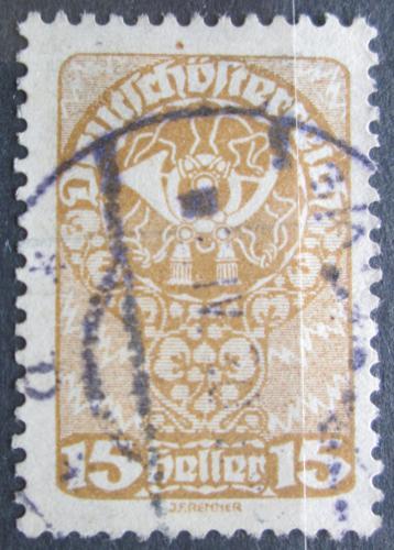 Poštovní známka Rakousko 1920 Poštovní roh Mi# 262 x