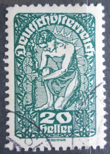 Poštovní známka Rakousko 1920 Alegorie Mi# 264 x