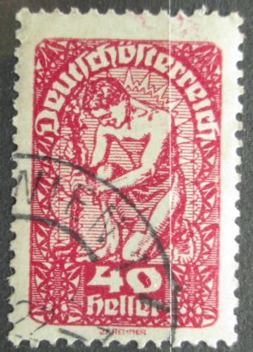 Poštovní známka Rakousko 1920 Alegorie Mi# 269 x
