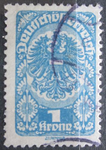 Poštovní známka Rakousko 1920 Císaøská orlice Mi# 274 x
