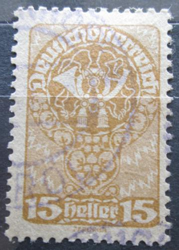 Poštovní známka Rakousko 1920 Poštovní roh Mi# 262 y