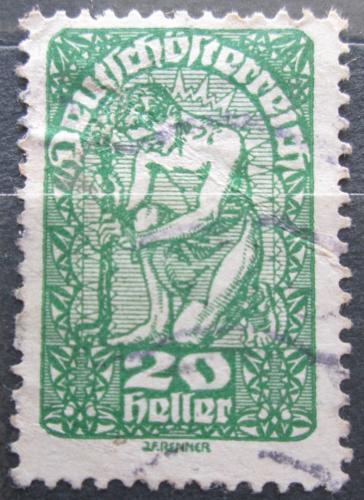 Poštovní známka Rakousko 1920 Alegorie Mi# 264 y Kat 10€
