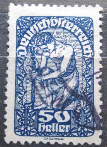 Poštovní známka Rakousko 1920 Alegorie Mi# 271 y
