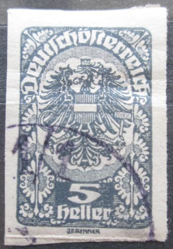 Poštovní známka Rakousko 1920 Císaøská orlice Mi# 276