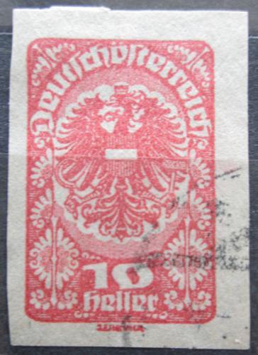Poštovní známka Rakousko 1920 Císaøská orlice Mi# 278
