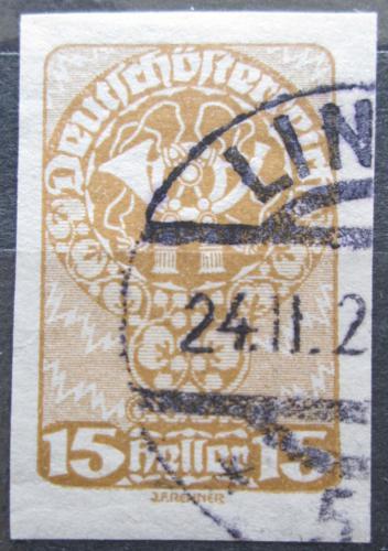 Poštovní známka Rakousko 1920 Poštovní roh Mi# 279