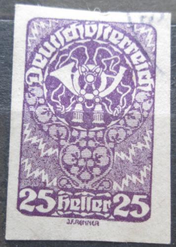 Poštovní známka Rakousko 1920 Poštovní roh Mi# 280
