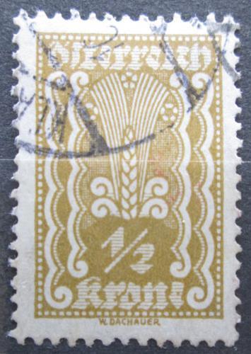 Poštovní známka Rakousko 1922 Alegorie hospodáøství Mi# 360