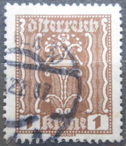 Poštovní známka Rakousko 1922 Alegorie hospodáøství Mi# 361