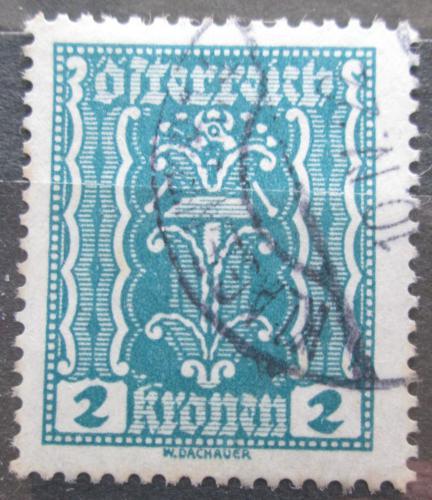 Poštovní známka Rakousko 1922 Alegorie hospodáøství Mi# 362