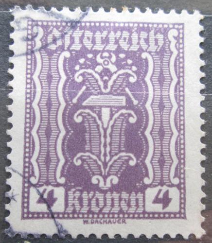 Poštovní známka Rakousko 1922 Alegorie hospodáøství Mi# 364
