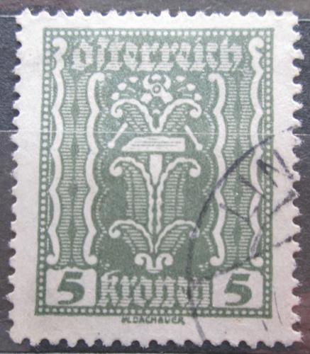 Poštovní známka Rakousko 1922 Alegorie hospodáøství Mi# 365