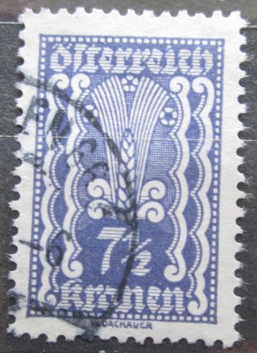 Poštovní známka Rakousko 1922 Alegorie hospodáøství Mi# 366