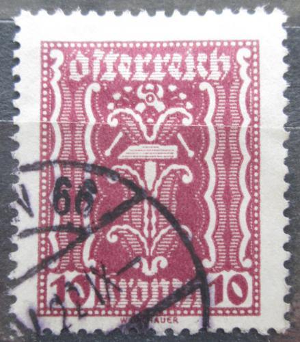 Poštovní známka Rakousko 1922 Alegorie hospodáøství Mi# 367