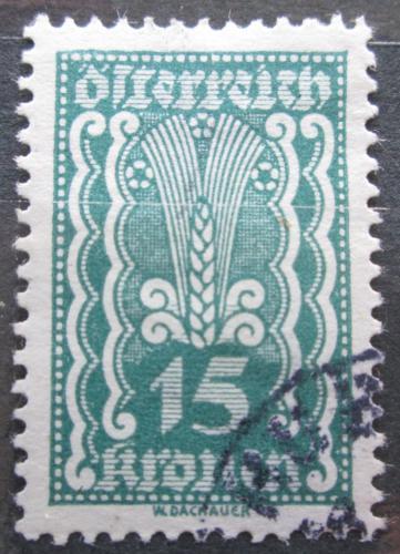 Poštovní známka Rakousko 1922 Alegorie hospodáøství Mi# 369