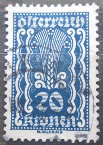 Poštovní známka Rakousko 1922 Alegorie hospodáøství Mi# 370