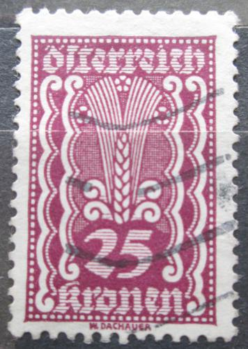 Poštovní známka Rakousko 1922 Alegorie hospodáøství Mi# 371