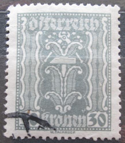 Poštovní známka Rakousko 1922 Alegorie hospodáøství Mi# 372