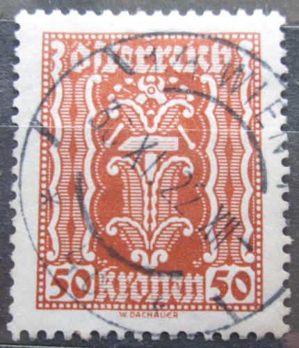 Poštovní známka Rakousko 1922 Alegorie hospodáøství Mi# 374