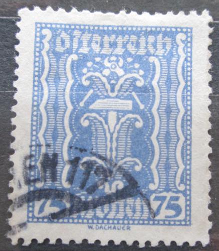 Poštovní známka Rakousko 1922 Alegorie hospodáøství Mi# 376
