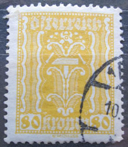 Poštovní známka Rakousko 1922 Alegorie hospodáøství Mi# 377