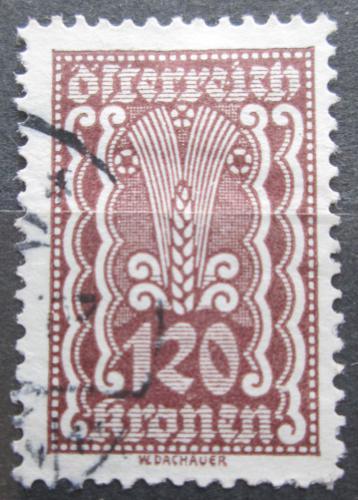 Poštovní známka Rakousko 1922 Alegorie hospodáøství Mi# 379